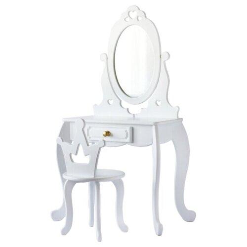 Купить Туалетный детский столик Маленькая Леди , Wood Fishka, Играем в салон красоты