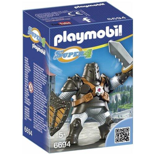 Конструктор Playmobil Super 4 6694 Черный колосс, Конструкторы  - купить со скидкой