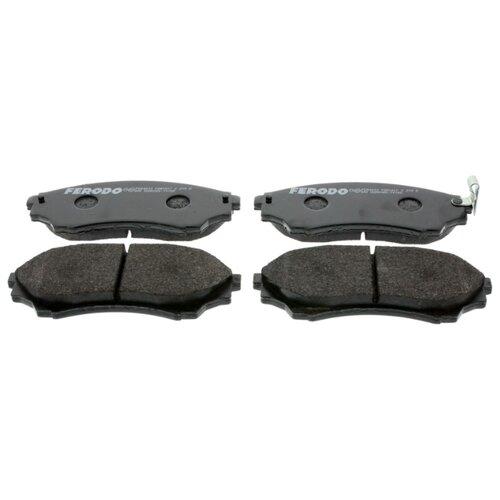 Фото - Дисковые тормозные колодки передние Ferodo FDB1817 для Mazda B-Series, Mazda BT-50, Ford Ranger (4 шт.) дисковые тормозные колодки передние ferodo fdb4446 для mazda 3 mazda cx 3 4 шт