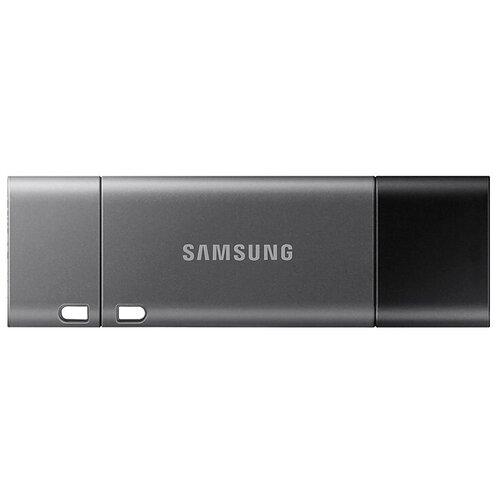 Фото - Флешка Samsung USB 3.1 Flash Drive DUO Plus 256 GB, черный флешка samsung usb 3 1 flash drive fit plus 32gb черный