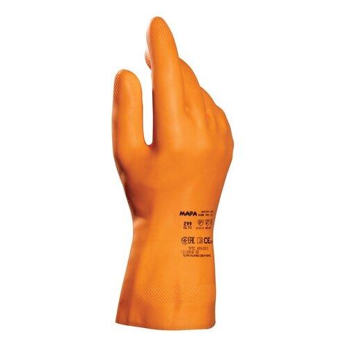 Перчатки MAPA Professional Industrial/Alto 299, размер 10 (XL) 1 пара оранжевый