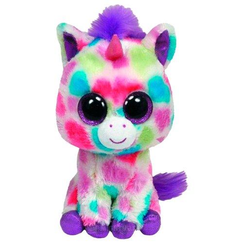 Мягкая игрушка TY Beanie boos Единорог Wishful 33 см