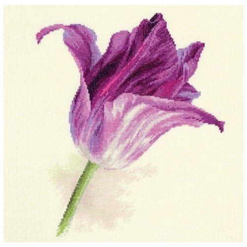 Фото - Алиса Набор для вышивания Тюльпаны. Сиреневый бархат 22 х 26 см (2-44) алиса набор для вышивания тюльпаны малиновое сияние 22 x 26 см 2 43