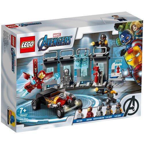 Конструктор LEGO Marvel Super Heroes 76167 Avengers Арсенал Железного человека