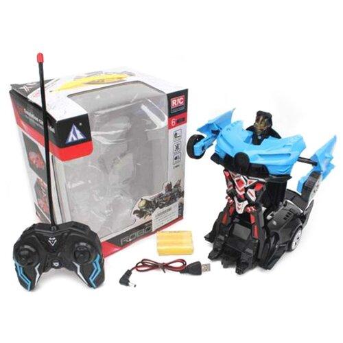 Купить Робот-машина р/у Наша Игрушка 5 каналов, свет, аккумулятор, USB шнур, коробка (23-2A), Наша игрушка, Радиоуправляемые игрушки