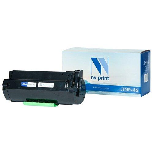 Картридж NV Print TNP-46 для Konica Minolta, совместимый картридж nv print tnp 27k 2100стр черный