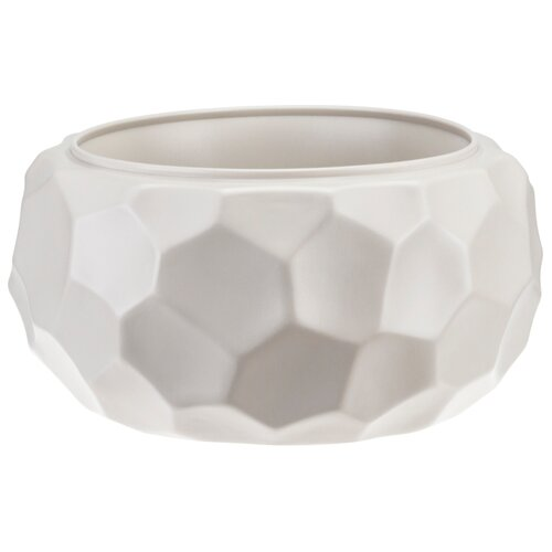 Кашпо IDEA (М-Пластика) Мозаика 28х15.5 см кремовый по цене 641