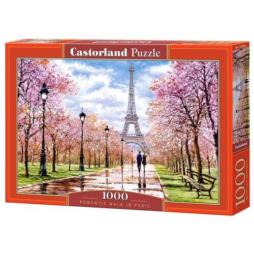 Пазл Castorland Романтическая прогулка по Парижу (C-104369), 1000 дет.