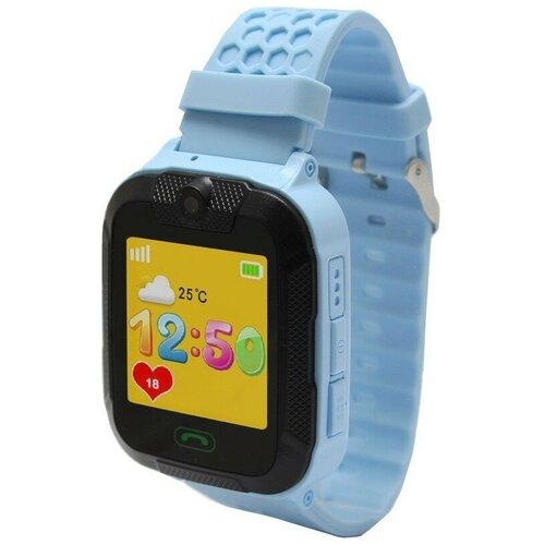 Детские умные часы Ginzzu GZ-751, голубой умные часы детские ginzzu gz 503 touch черный