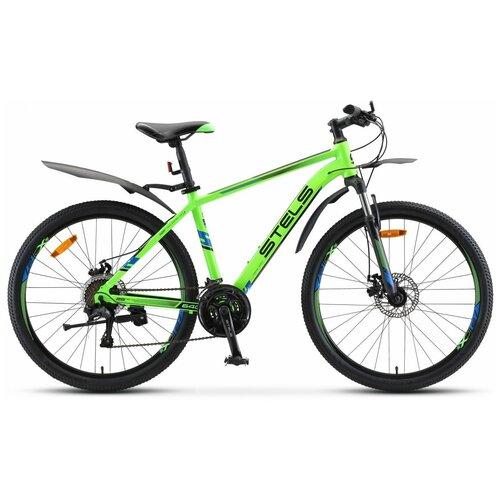 Горный (MTB) велосипед STELS Navigator 640 MD 26 V010 (2020) зеленый 19 (требует финальной сборки)