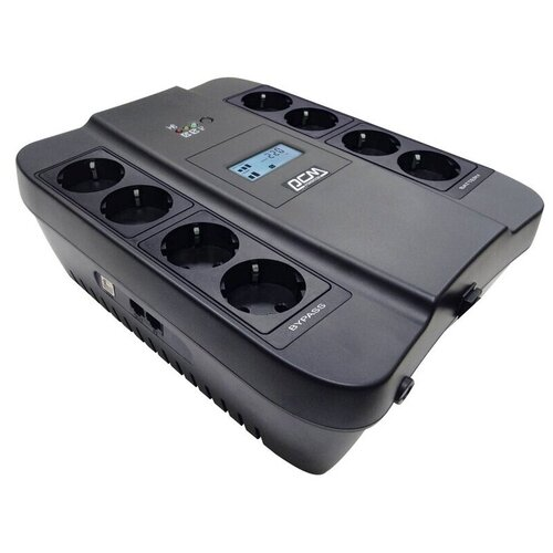 Источник бесперебойн POWERCOM Spider SPD-900U LCD 540Вт 900ВА черный