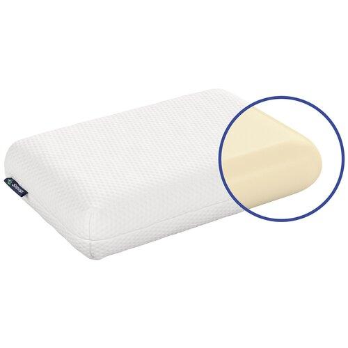 Подушка IQ Sleep Orto Classica 40 х 60 см белый подушка с чехлом iq sleep orto fitness орто фитнес 39x59