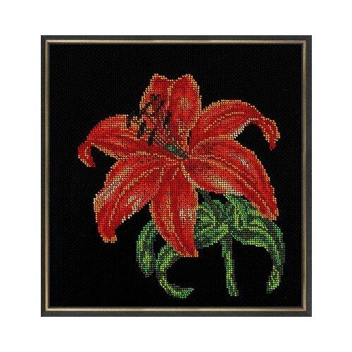 Купить Набор для вышивания Радуга бисера В-139 Королева ночи 30 х 30 см, Наборы для вышивания