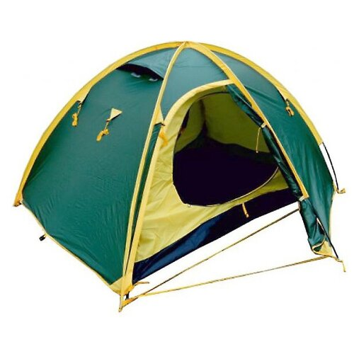 Палатка Talberg Space 2 зеленый/желтый