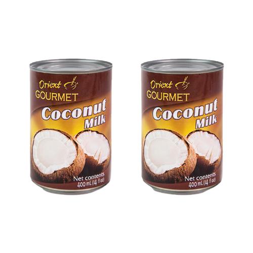 Молоко кокосовое Orient Gourmet Coconut milk 400 мл, 2 шт.