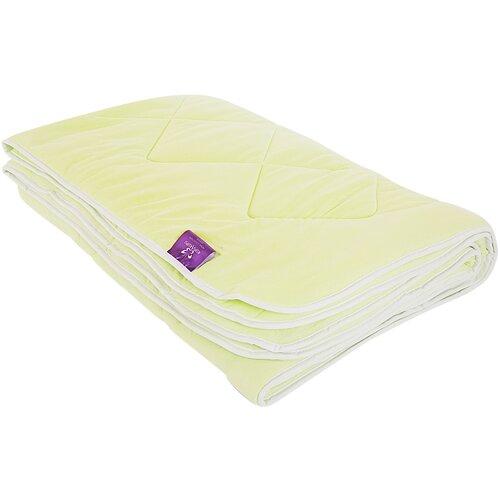 Одеяло Kupu-Kupu Бамбук Classic трикотажное, легкое, 140 х 205 см (салат) одеяло kupu kupu бамбук classic трикотажное легкое 172 х 205 см экрю
