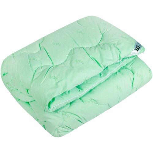 Одеяло DREAM TIME Бамбуковое волокно, теплое, 140 х 205 см (зеленый)