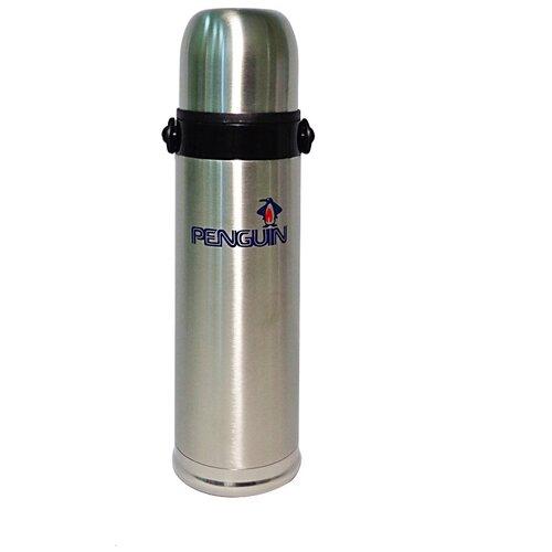Классический термос Penguin BK-42, 0.5 л стальной/черный