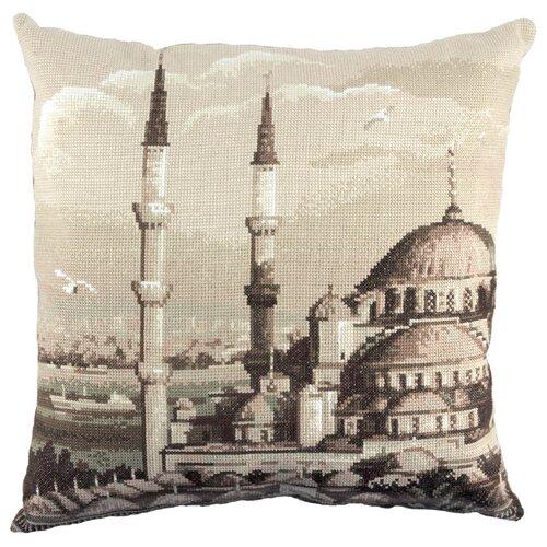 PANNA Набор для вышивания Наволочка Стамбул Голубая мечеть 42 x 42 см (PD-1989), Наборы для вышивания  - купить со скидкой