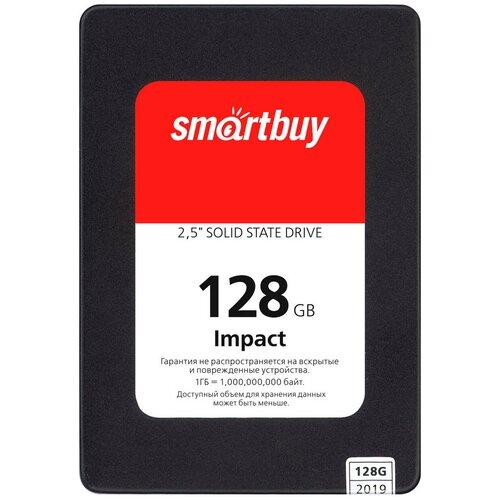 Твердотельный накопитель SmartBuy 128 GB Impact 128 GB (SBSSD-128GT-PH12-25S3)