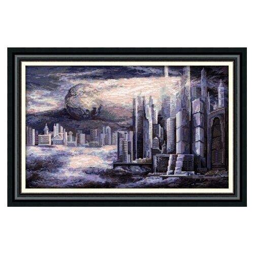 Купить Набор для вышивания «Panna» ГМ-1372 Город будущего, Наборы для вышивания