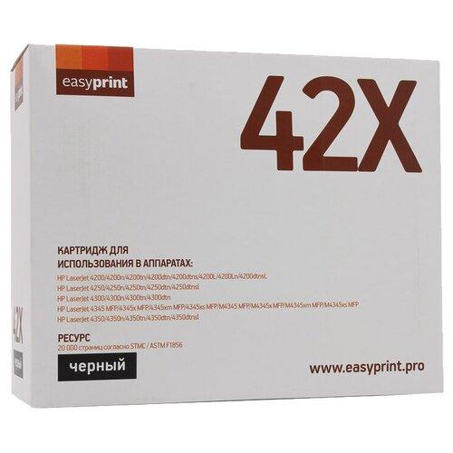 Фото - Картридж EasyPrint LH-42X, совместимый картридж easyprint lb 2375 совместимый