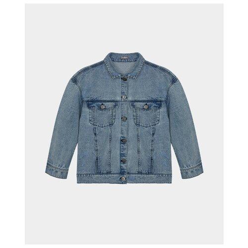 Купить Куртка Gulliver размер 170, голубой, Куртки и пуховики