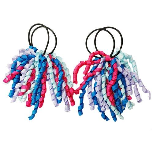 Купить Резинка BRADEX Спиральки 2 шт. голубой/розовый