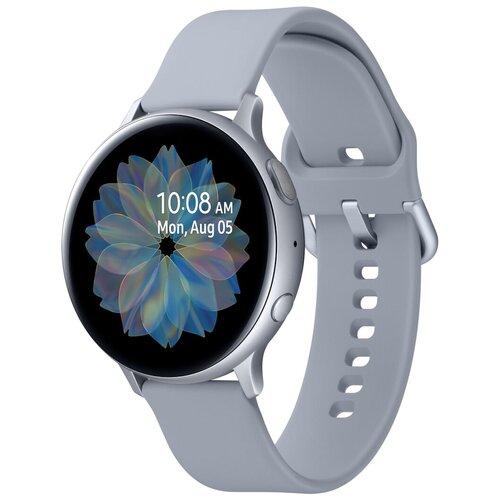 Умные часы Samsung Galaxy Watch Active2 алюминий 44мм, арктика умные часы samsung galaxy watch active2 алюминий 40мм ваниль