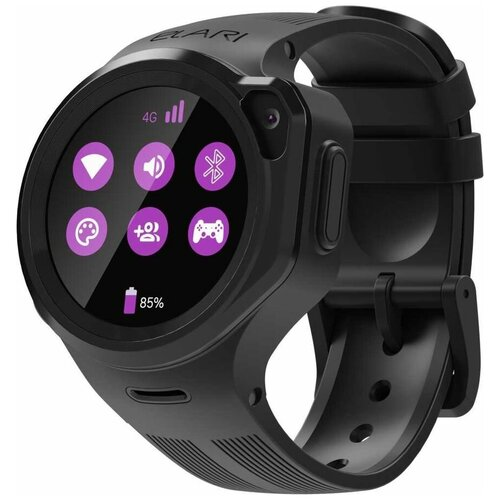 Детские умные часы ELARI KidPhone 4GR, черный недорого