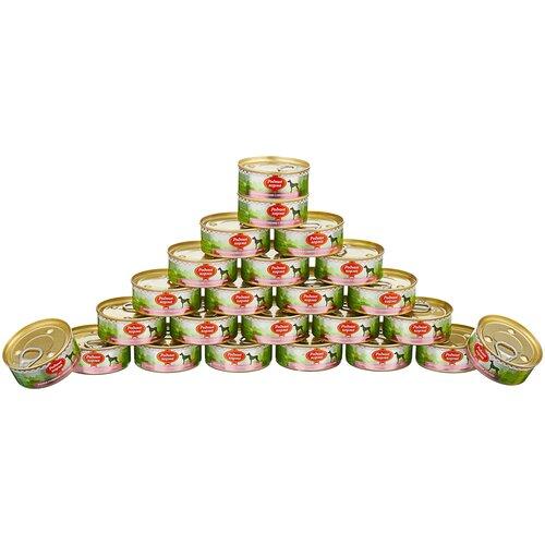 Влажный корм для собак Родные корма беззерновой, сердце 24 шт. х 100 г