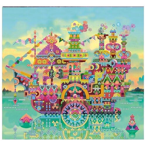 Купить ABRIS ART Схема для вышивания бисером Красочный круиз 20 х 20 см (AC-539), Наборы для вышивания