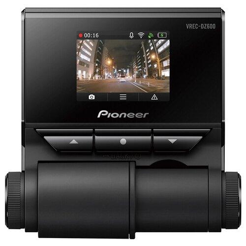 Видеорегистратор Pioneer VREC-DZ600, GPS, черный