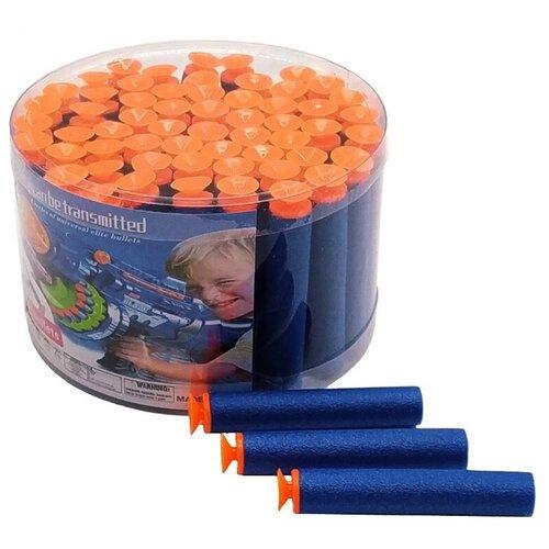 Купить Игровой набор Пули поролоновые с присосками 60 шт., Igrolla, Игрушечное оружие и бластеры