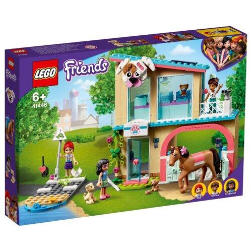 Купить Конструктор LEGO Friends 41446 Ветеринарная клиника Хартлейк-Сити, Конструкторы