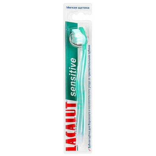 Зубная щетка Lacalut Sensitive Soft, зеленый