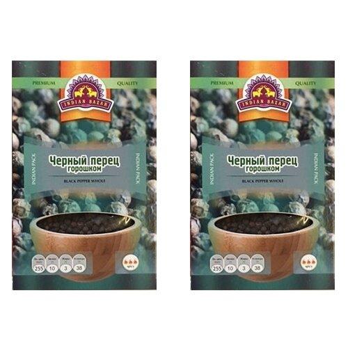 Фото - Перец черный Indian Bazar горошек (2 шт. по 50 г) пажитник семена indian bazar 4 шт по 75 г