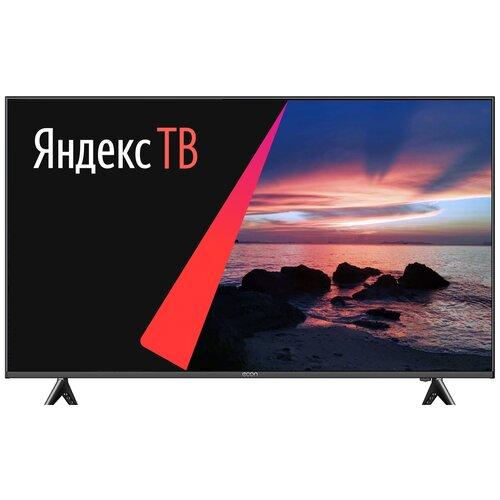 "Телевизор ECON EX-50US003B 50"" (2020) на платформе Яндекс.ТВ черный"