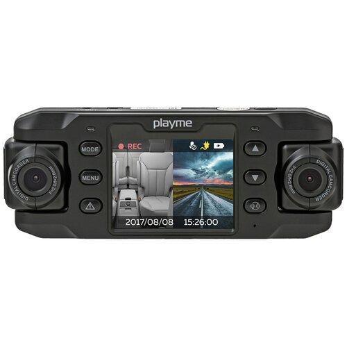 Видеорегистратор Playme NIO, 2 камеры, черный
