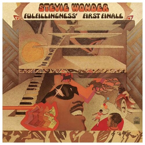 Stevie Wonder – Fulfillingness' First Finale (LP) stevie wonder stevie wonder drown in my own tears live at the regal