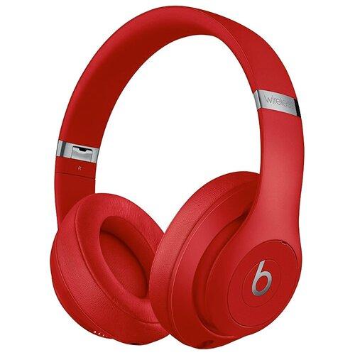 Беспроводные наушники Beats Studio 3 Wireless, red