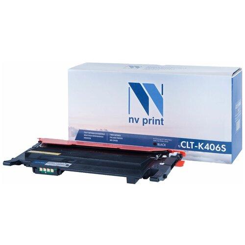 Картридж NV Print CLT-K406S для Samsung, совместимый картридж nv print clt m406s для samsung совместимый