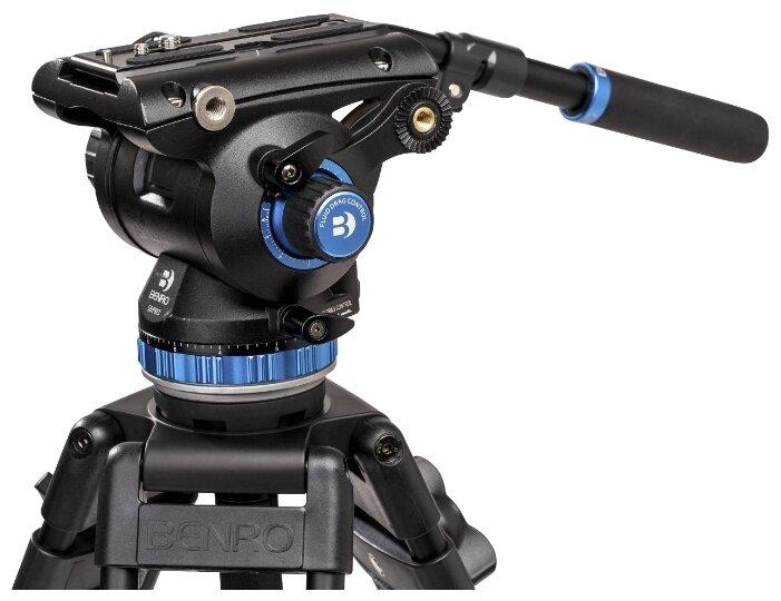 Benro S8Pro видеоголова/8 кг/контрбаланс
