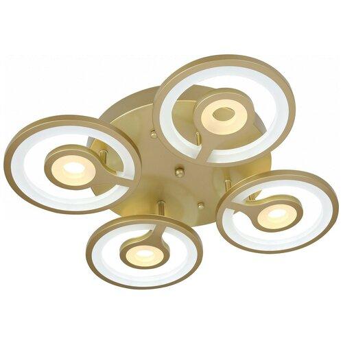 Фото - Люстра светодиодная Stilfort Andria 2080/03/04C, LED, 56 Вт светодиодная stilfort oliver 2073 03 04c led 48 вт