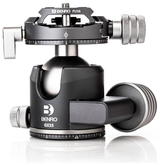 Benro GX35 шаровая голова Dual Panoramic/Arca-swiss style/35 кг