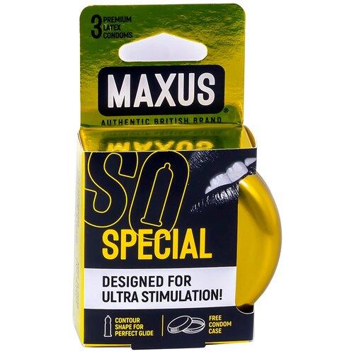 Купить Презервативы Maxus Special (железный кейс), 3 шт.