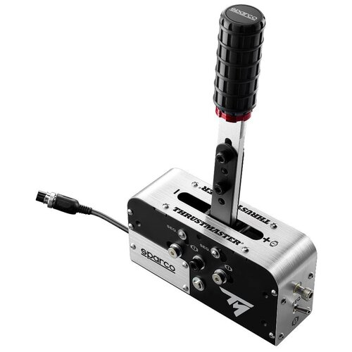 Комплектующие для руля Thrustmaster TSS Handbrake Sparco Mod, серебристый