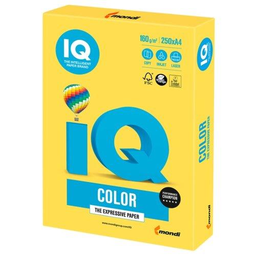 Фото - Бумага IQ Color А4 160 г/м² 250 лист. бумага heyda а4 1 лист сhecks в