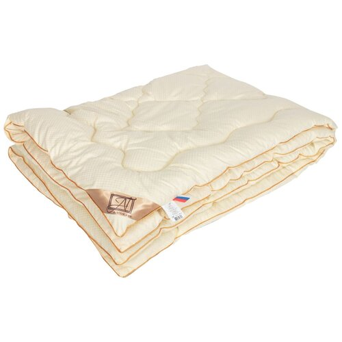 Фото - Одеяло АльВиТек Модерато, очень теплое, 172 х 205 см (сливочный) одеяло альвитек модерато эко всесезонное 172 х 205 см сливочный
