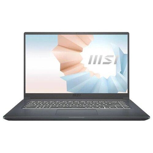 Фото - Ноутбук MSI Modern 14 B11MO-063RU (9S7-14D314-063), серый ноутбук msi wf65 10tj 289ru 9s7 16r424 289 серый